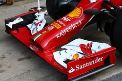 法拉利F14-T前翼