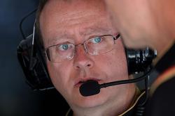 Mark Slade, Engenheiro de corrida da Lotus F1