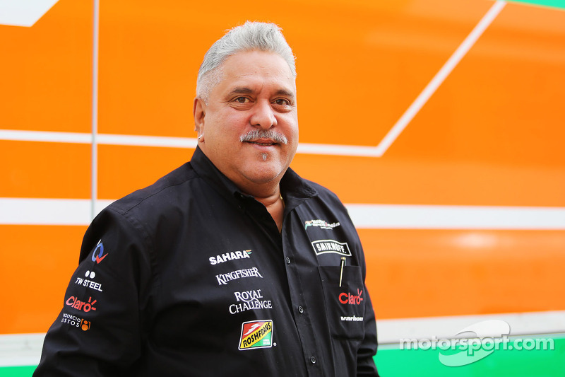 Dr. Vijay Mallya dueño de Sahara Force India F1 Team