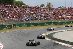 Nico Hulkenberg, Sahara Force India F1 VJM07 ve Sergio Perez, Sahara Force India F1 VJM07