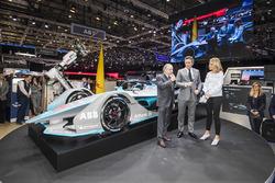Alejandro Agag, CEO of Formula E, Jean Todt, FIA President