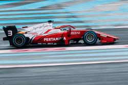 Formel-2-Test in Le Castellet, März