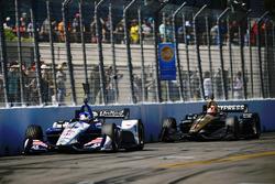 Graham Rahal, Rahal Letterman Lanigan Racing Honda, James Hinchcliffe, Schmidt Peterson Motorsports Honda