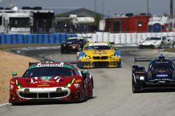 #51 Spirit of Race Ferrari 488 GT3, GTD: Paul Dalla Lana, Pedro Lamy, Mathias Lauda, Daniel Serra, #10 Wayne Taylor Racing Cadillac DPi, P: Renger van der Zande, Jordan Taylor, Ryan Hunter-Reay