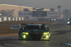CJ Wilson Racing Acura NSX GT3, GTD: Marc Miller, Till Bechtolsheimer, Kuno Wittmer