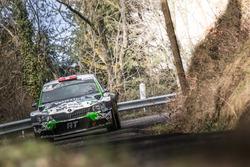 Ivan Ballinari, Paolo Pianca, Skoda Fabia R5, Lugano Racing Team
