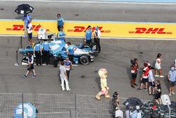Luca Filippi, NIO Formula E Team, on the grid