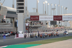 Partenza, Francesco Bagnaia, SKY Racing Team VR46 al comando
