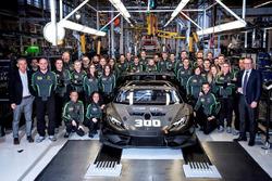 Lamborghini Squadra Corse, 300esima Huracán da competizione