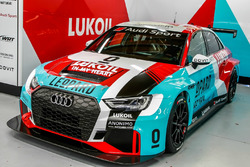 Автомобиль Audi RS3 LMS TCR команды Audi Sport Leopard Lukoil Team