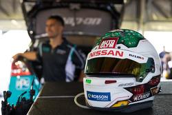 Helmet of Michael Caruso, Nissan Motorsport Nissan