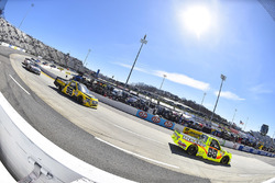 Matt Crafton, ThorSport Racing, Ford F-150 Ideal Door/Menards and Grant Enfinger, ThorSport Racing, Ford F-150 Champion Power Equipment/Curb Records