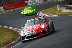 #101 Porsche 911 GT3 Cup: John Shoffner, Janine Hill, Arno Klasen