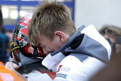 Race winners #5 Phoenix Racing Audi R8 LMS: Philip Ellis, Max Hofer