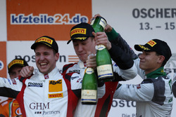 Podium: #5 Phoenix Racing Audi R8 LMS: Philip Ellis, Max Hofer