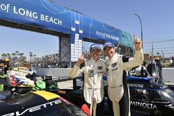 GTLM winners Tommy Milner, Oliver Gavin Corvette Racing