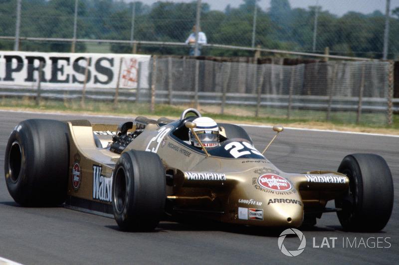 Riccardo Patrese, Arrows A2 Ford