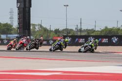 Cal Crutchlow, Team LCR Honda, Valentino Rossi, Yamaha Factory Racing, Johann Zarco, Monster Yamaha Tech 3