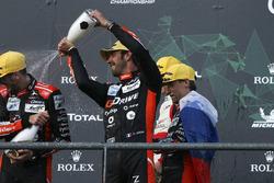 LMP2 winners #26 G-Drive Racing Oreca 07: Roman Rusinov, Jean-Eric Vergne, Andrea Pizzitola