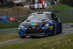 #42 Ring Racing with Novel Lexus RCF: Kota Sasaki, Yoshimoto Hiroki, Dominik Farnbacher, Mario Farnbacher