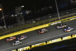 Kasey Kahne, Leavine Family Racing, Chevrolet Camaro Dumont Jets, Denny Hamlin, Joe Gibbs Racing, Toyota Camry FedEx Express