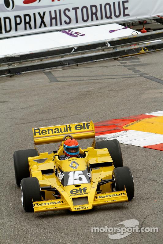 Jean-Pierre Jabouille e seu Renault F1