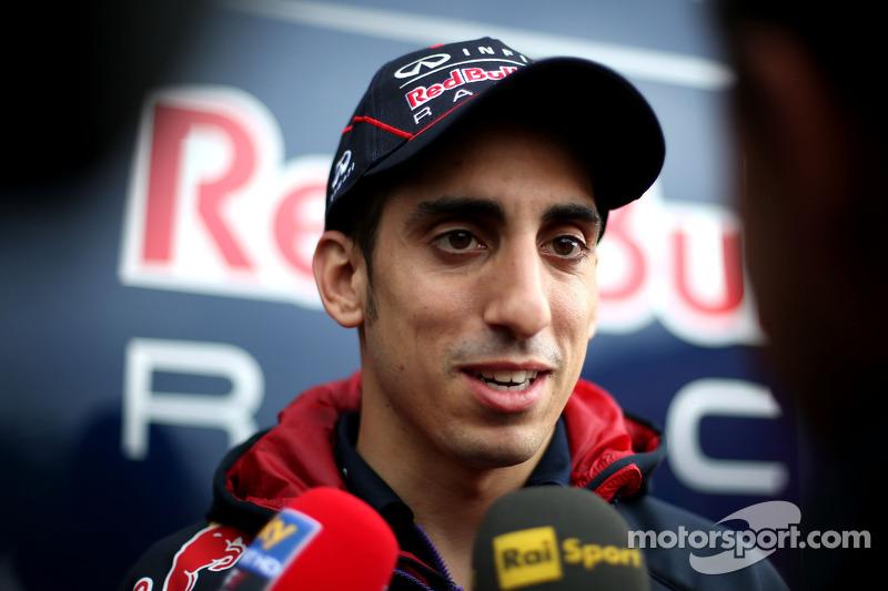 Sebastien Buemi, terceiro piloto, Red Bull Racing