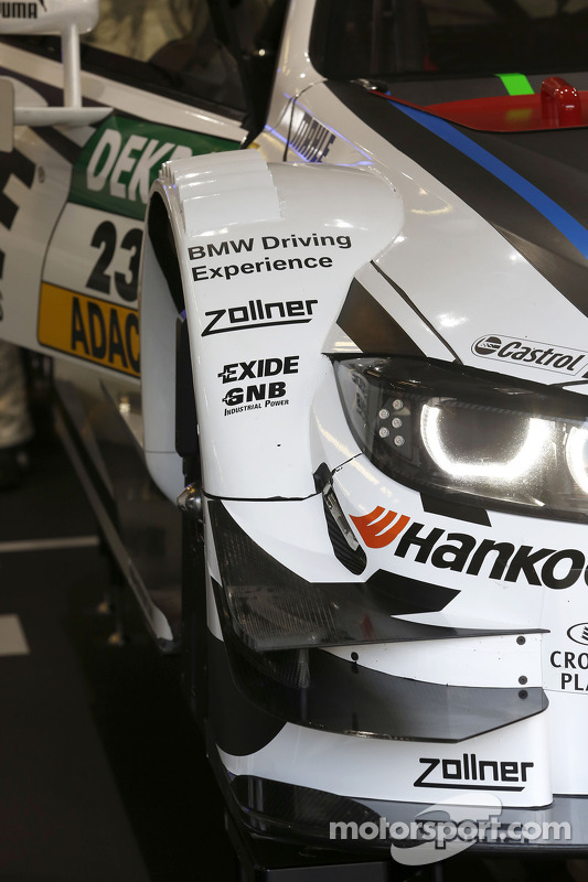 Detalhe do carro de Marco Wittmann, BMW Team RMG BMW M4 DTM