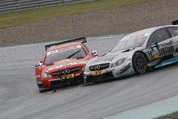 Daniel Juncadella, Mercedes AMG DTM-Team Mücke DTM Mercedes AMG C-Coupé and Vitaly Petrov, Mercedes AMG DTM-Team Mücke DTM Mercedes AMG C-Coupé