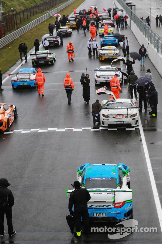 carros no grid