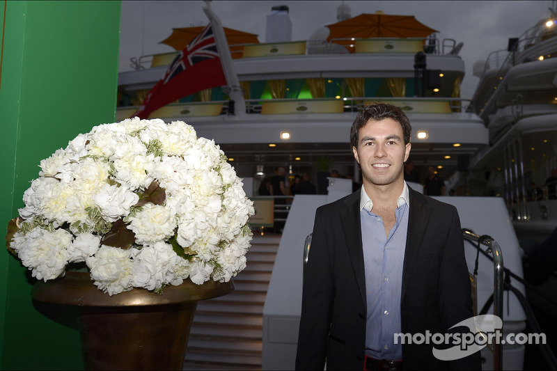 Sergio Perez, Sahara Force India F1 al Signature Monaco Party