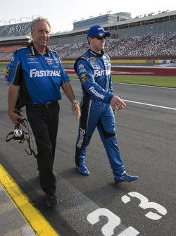 Jimmy Fennig and Carl Edwards, Roush Fenway Racing Ford