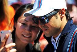 Felipe Massa, Williams ve taraftarlar