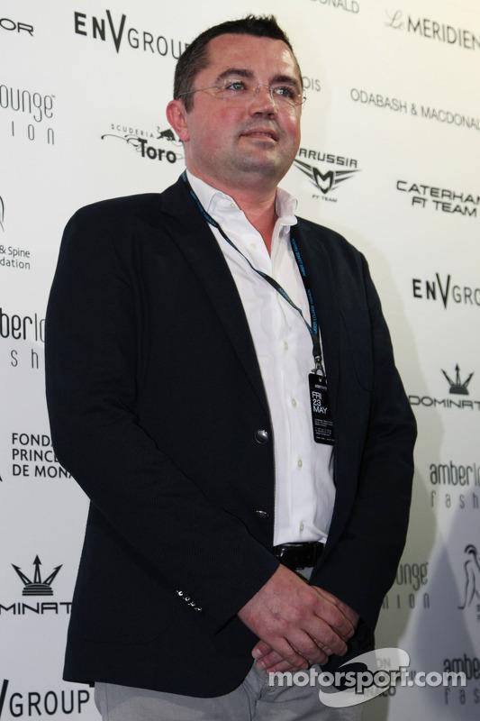 Eric Boullier, McLaren Yarış Direktörü Amber Lounge Fashion Show'da