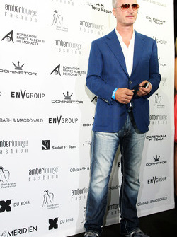 Eddie Irvine, at the Amber Lounge Fashion Show