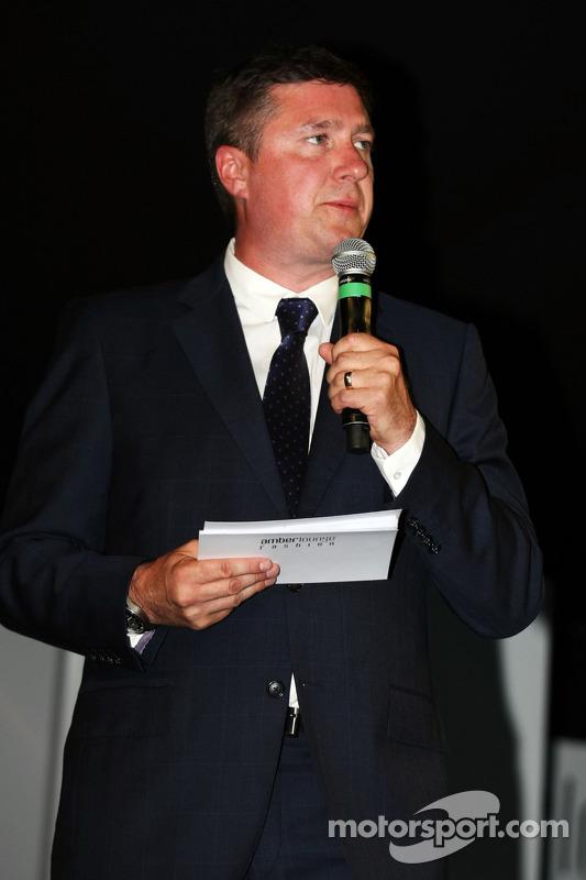 David Croft, Sky Sports Yorumcusu Amber Lounge Fashion Show'da