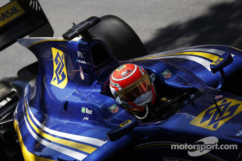 Terzo posto Felipe Nasr