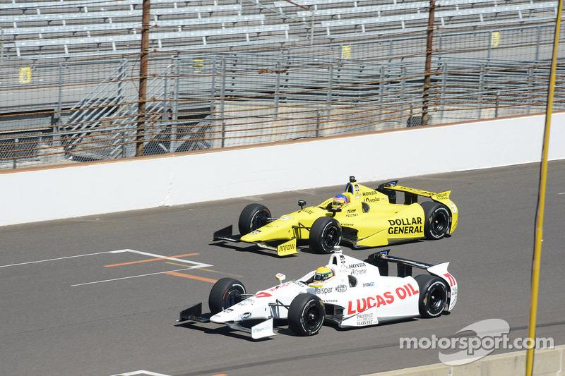 Simon Pagenaud, Schmidt Peterson Hamilton Motorsports Honda e Jacques Villeneuve, Schmidt Petersen R