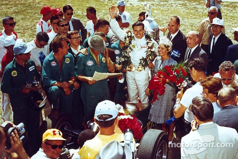 Indy 500 winner Jim Clark