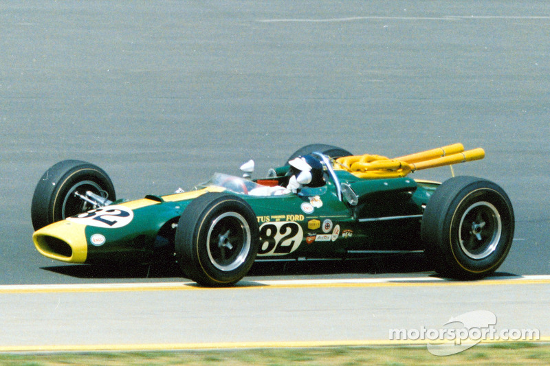1965: Jim Clark domineert met zijn Lotus-Ford