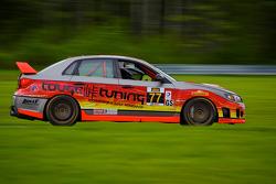 #77 Compass360 Racing Subaru WRX STI: Kyle Gimple, Ryan Eversley