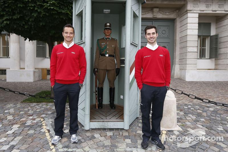 Timo Scheider e Miguel Molina in Ungheria