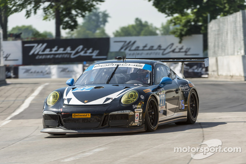 #27 邓普希 Racing 保时捷 911 GT America: 布雷特·桑德伯格, 安德鲁·戴维斯