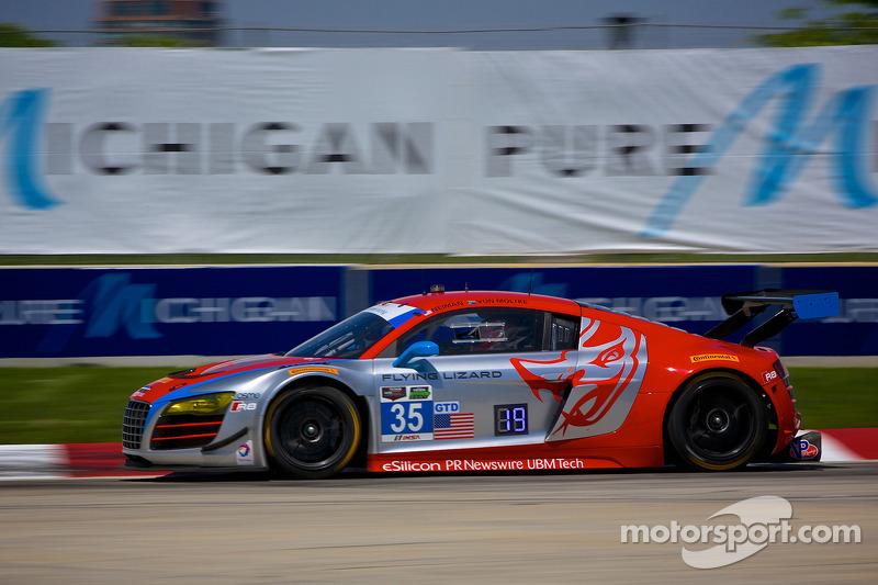 #35 Flying Lizard Motorsports 奥迪 R8 LMS: 赛斯·奈曼 & 迪翁·冯莫尔特克