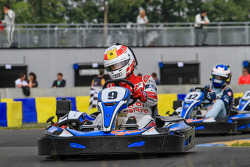 Media/drivers karting race: Tom Kristensen