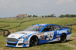 The car of Carl Edwards at Dreamfields Farm in Kentucky