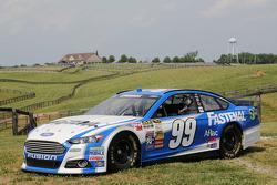 Carl Edwards的赛车,在肯塔基的梦想农场
