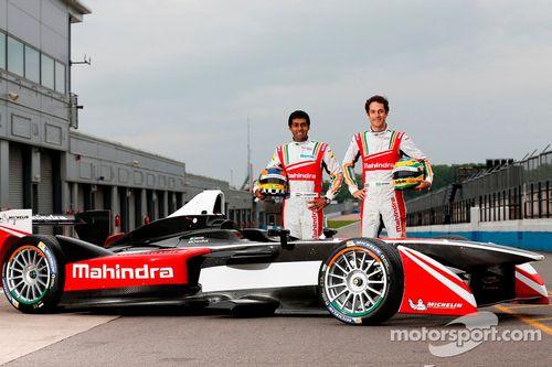 Mahindra Racing test sürüşü