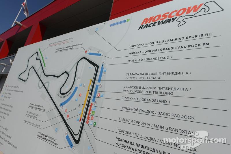 Mapa pista
