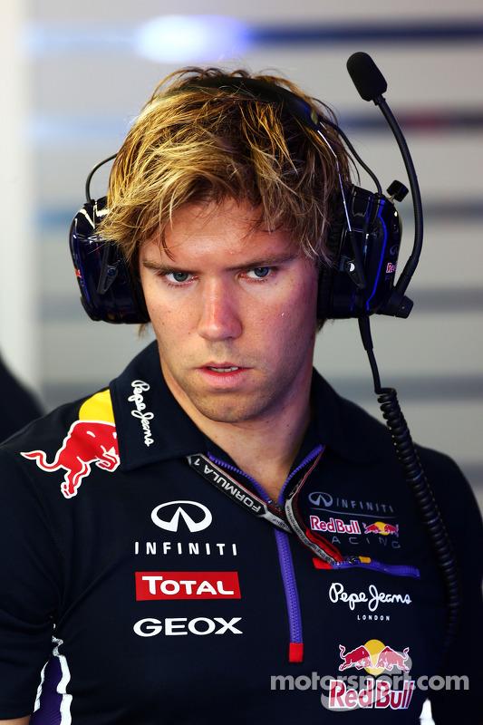Antti Kontsas, Personal Trainer of Sebastian Vettel, Red Bull Racing